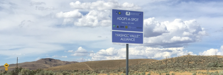 Washoe Valley Alliance Adopts-A-Spot